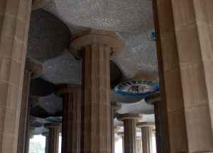 Columnes del Parc Güell - Antoni Gaudi