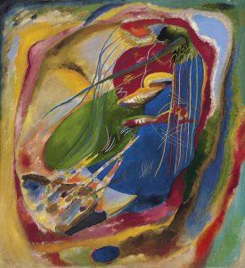 Pintura amb tres taques - Wassily Kandinsky