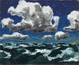 Núvols d'estiu - Emil Nolde